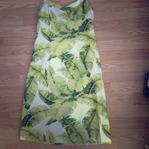 Tommy Bahama Dresses & Skirts - Tommy Bahama green floral halter dress Sz 4