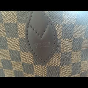 fd0fb63384d9 Louis Vuitton Bags - Louis Vuitton Neverfull MM with hot stamp VIKI