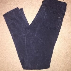 Rag&Bone Acid dark wash denim