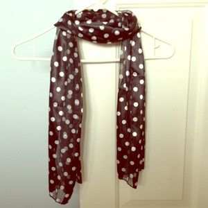 Accessories - Polka Dot Scarf