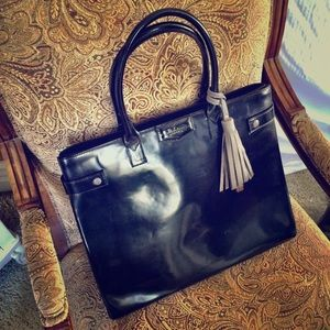 Alberta di Canio Handbags - Gently used Italian letter handbag.