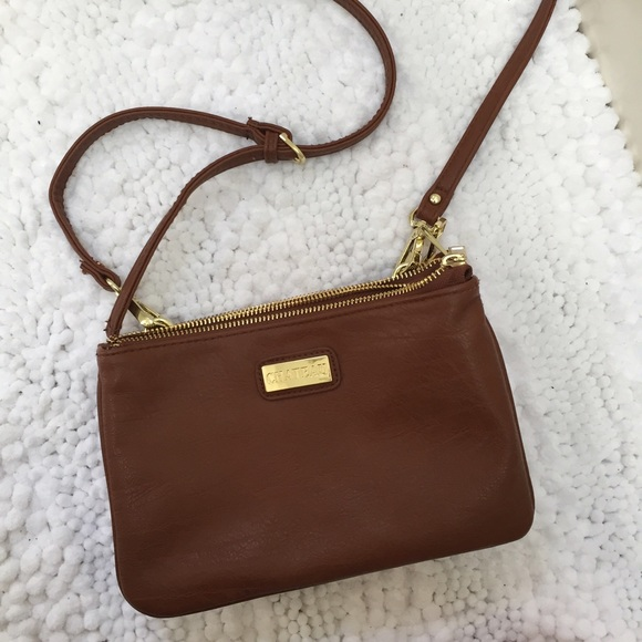 32% off Handbags - Side satchel brown purse from ! heather's ...