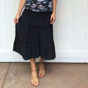 Mossimo Supply Co Dresses & Skirts - Black boho skirt