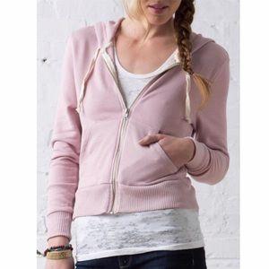 Alternative Apparel Sweaters - Alternative Apparel Mauve Hooded Sweatshirt MED