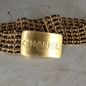 Vintage RARE CHANEL Belt  Authentic