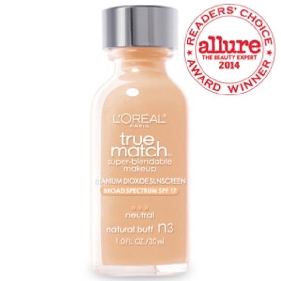 release date hot sale online best online L'oreal True Match - n3 (natural buff)