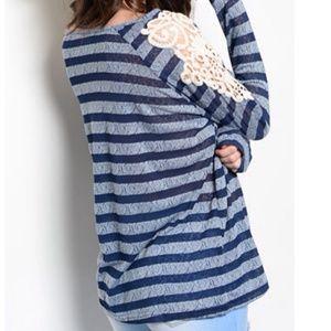 Tops - ‼️SALE‼️Valerie Crochet Spring Top