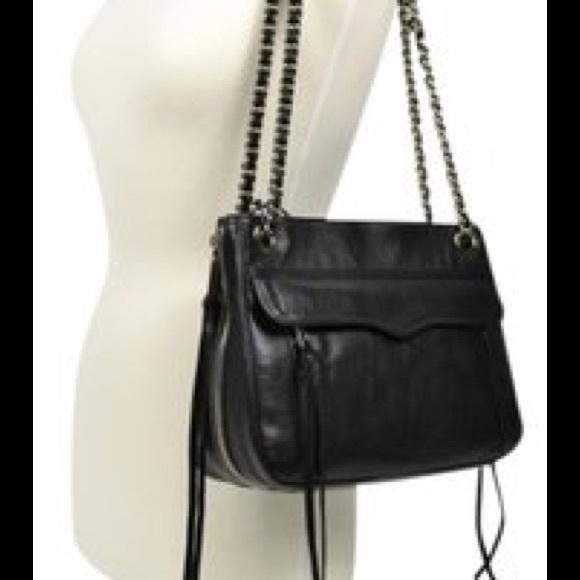 4f8497e56ac3 Rebecca Minkoff Swing Double Chain Strap Bag. M 5523143c680278355000f224