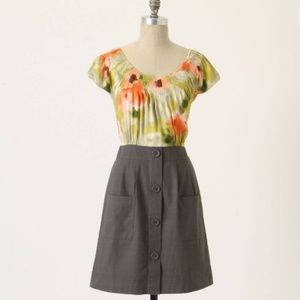 Anthropologie Zoya Dress