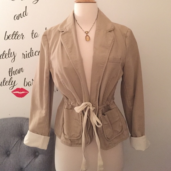 Old Navy Jackets & Blazers - One of a kind drawstring blazer!