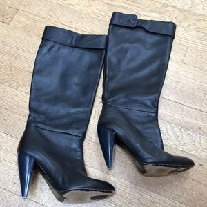 Lanvin Shoes - Lanvin tall leather boots, size 7.5