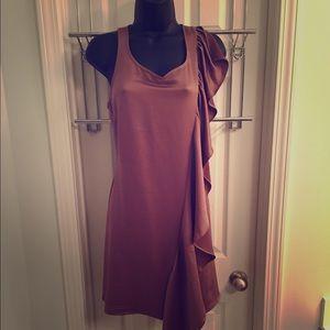 Bronze Goddess Dress