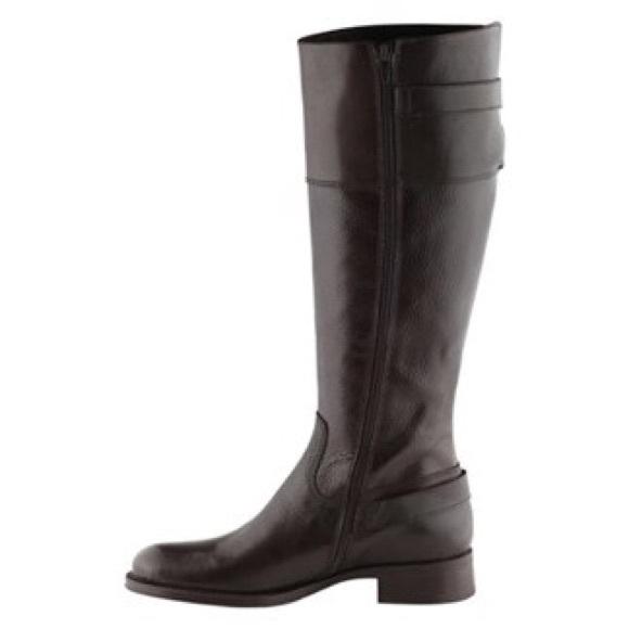 69% off ALDO Shoes - 🎉SALE🎉ALDO Borth brown Leather Zip Riding ...