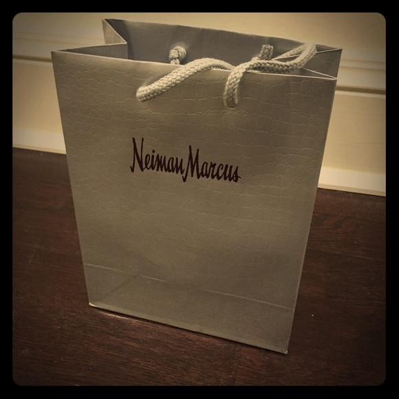 Neiman Marcus Shopping Bag 7W 9Tall 4 Deep