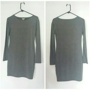 Piko gray jersey dress size M