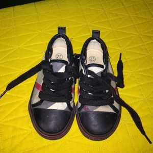 Authentic Baby Burberry Sneakers
