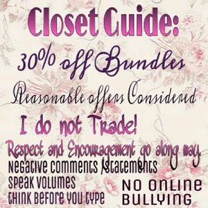 Other - 30% BUNDLES💰 SUGGESTED USER 🎉Co-host 5⭐️Closet