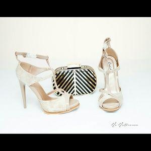 2 for $30 Nude heels