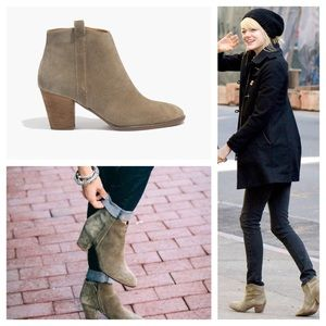 27 madewell boots nwob madewell billie boot in