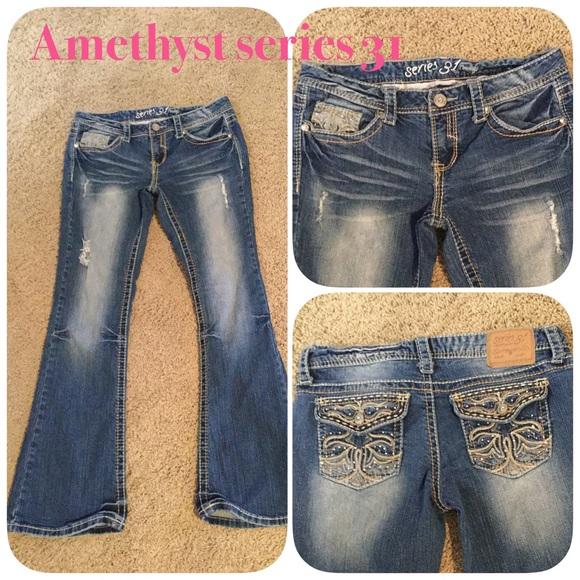 609c6df6ad2 Amethyst Denim - Amethyst series 31 jeans