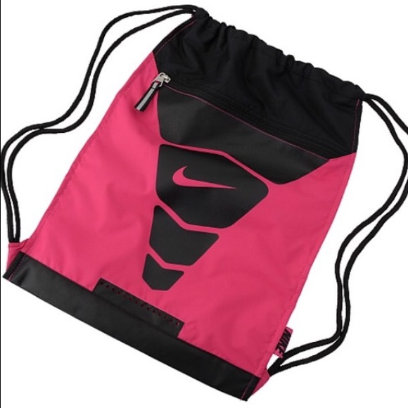 pink nike elite bag