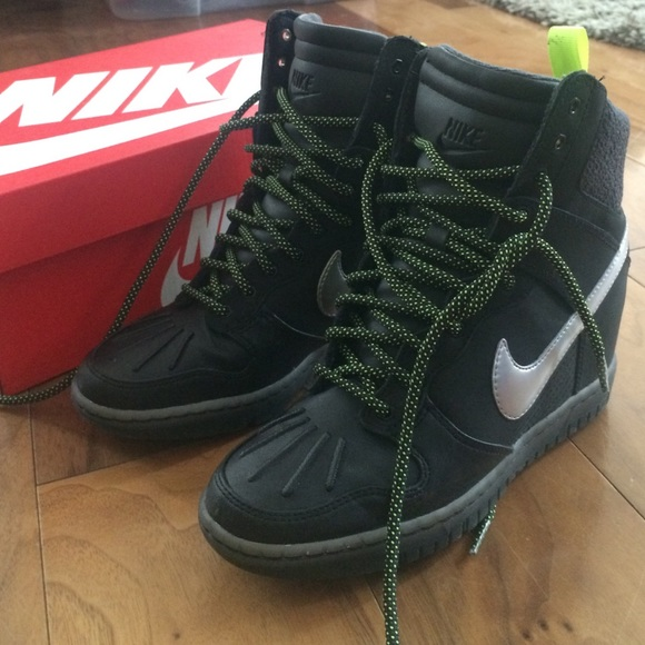 nike shoes sale nike sky hi sneaker boot wedge waterproof