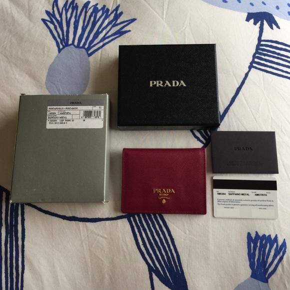607aff113273 Prada Bags | New Bifold Ametista Saffiano Wallet | Poshmark