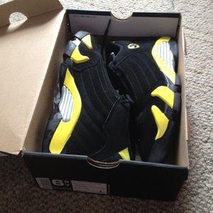 Jordan 4s Black And Yellow Batman