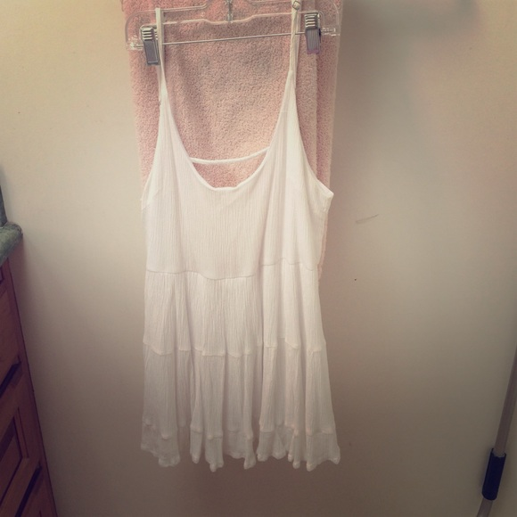 Brandy Melville Dresses & Skirts - WHITE JADA DRESS LOOK ALIKE
