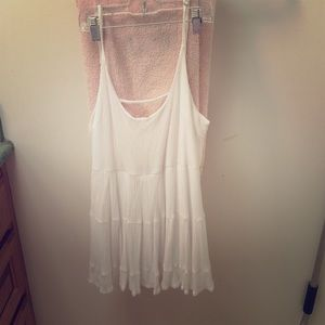 Brandy Melville Dresses - WHITE JADA DRESS LOOK ALIKE