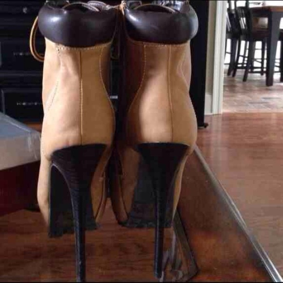 60 shoes high heel construction boot flash