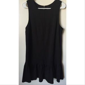 AQUA black dress size Large