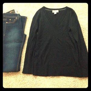 Black Wool Banana Republic Sweater
