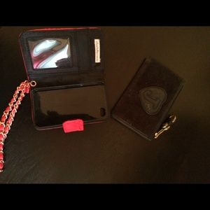 (Bundle!) Juicy Couture coin purse + iphone case