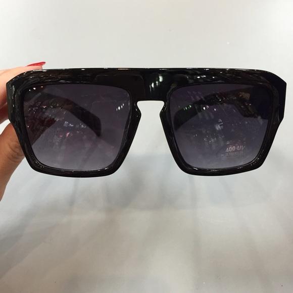 e9cd3242760 Celine Style Flat Top Sunglasses