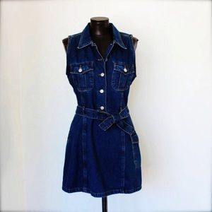 Vintage Jordache denim dress size 11/12