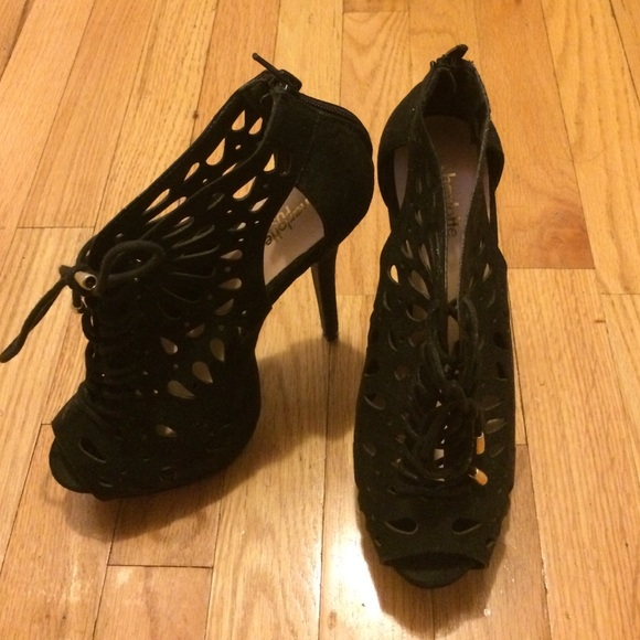 df8fd82b33d4 Charlotte Russe Shoes - Charlotte Russe Lace Up Heels