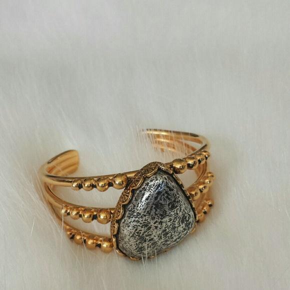 ON HOLD | Vanessa Mooney Gold Cuff Bracelet