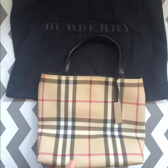 763ea6865dff Burberry Handbags - Burberry Nova Check Mini Tote
