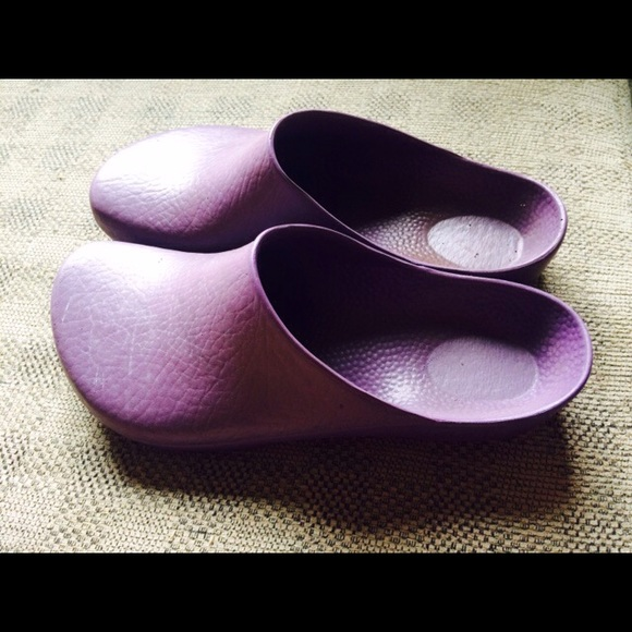 77 off Birkenstock Shoes Purple Birkenstock Garden clogs from