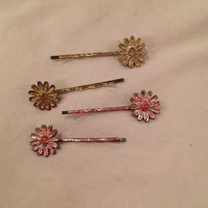 Other - Flower hair pins