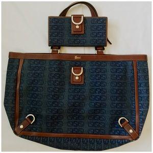 b3ae166962ac11 michael kors denim wallet selma medium saffiano bag - Marwood ...