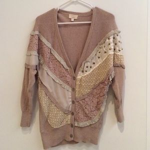 Sweaters - Vintage Patchwork Cardigan