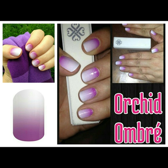 Jamberry Accessories | Nail Wraps Orchid Ombre | Poshmark