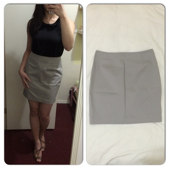 acac42143e3e H&M Dresses & Skirts - H&M grey pencil skirt