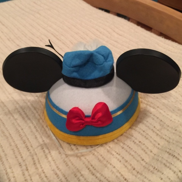 Disney Accessories - 🚫SOLD🚫 DISNEY DONALD DUCK MICKEY EARS HAT 071a8d9f8389