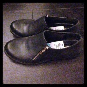 black BCBGeneration oxford shoes