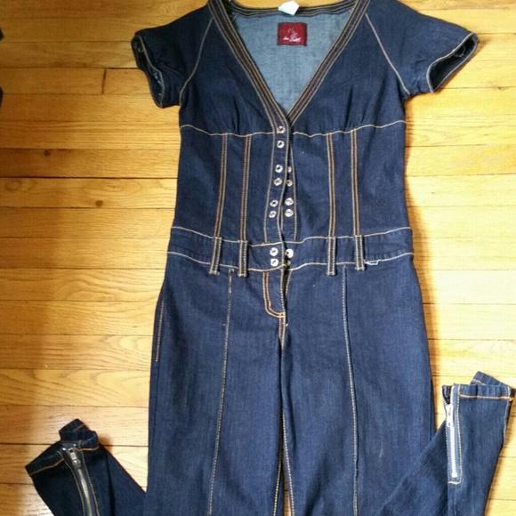 0f437d87f87 Baby Phat Denim - Baby Phat denim jumpsuit