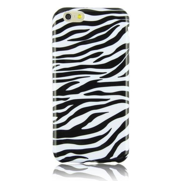 Accessories - iPhone 6 case zebra print soft TPU case New 7021305635ae