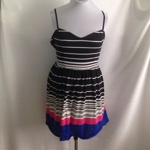 Xhilaration Dresses & Skirts - Striped Skater Dress